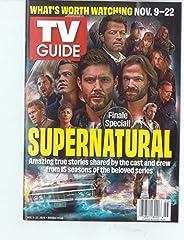TV GUIDE MAGAZINE - NOVEMBER 9 / 22, 2020 - FINALE SPECIAL! SUPERNATURAL