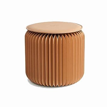 DZ Schemel Papier Hocker Mode Kraft Papier Hocker Startseite Klapphocker  Wohnzimmer Raum Nordic Kreative Möbeldesign