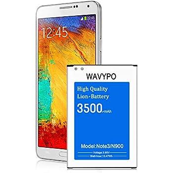Amazon.com: PowerBear Note 3 Battery (3200 mAh) Li-Ion ...