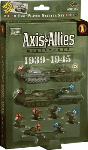 Avalon Hill Axis Allies Minis 1939-1945 Starter Se (And Miniatures Axis Allies)