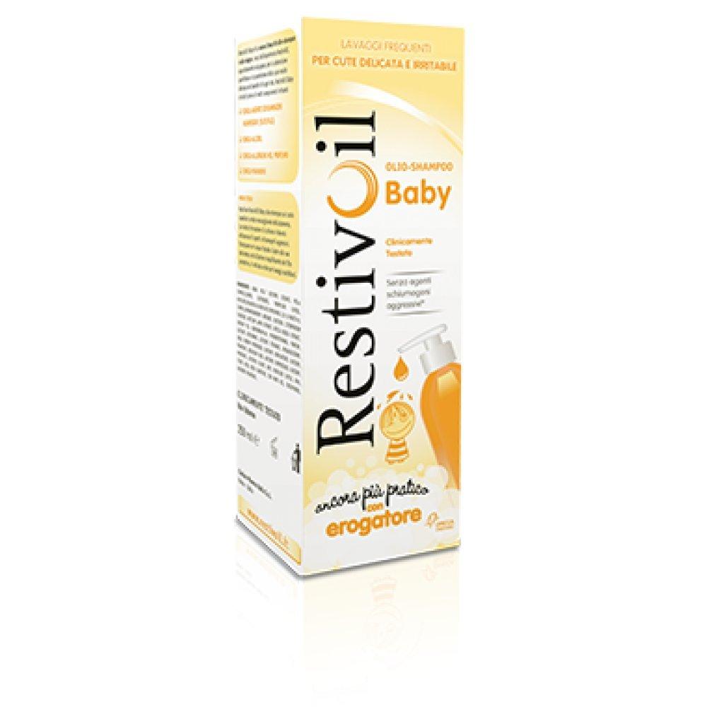 Restivoil Baby Olio-Shampoo con Erogatore - 250 ml Chefaro Pharma Italia 13279