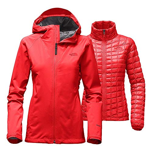 The North Face Thermoball Triclimate Womens High Risk Red Heather...