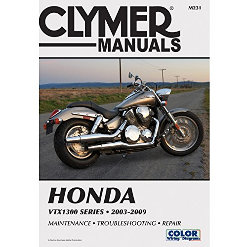 Clymer Repair Manual for Honda VTX1300 C/R/S/T 03-09