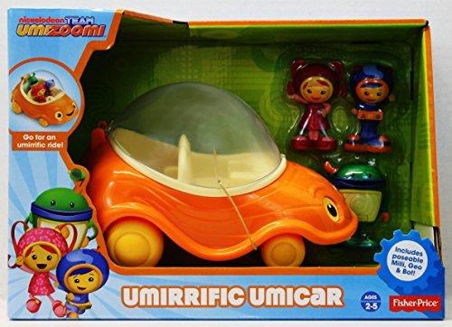 Fisher-Price Team Umizoomi Umirrific Umi Car by Team Umizoomi Fisher Price Y6495