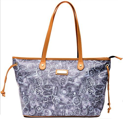Borsa Donna Bag Alviero Denim Blue Martini Woman Small Piccola AAnrq5WxTH