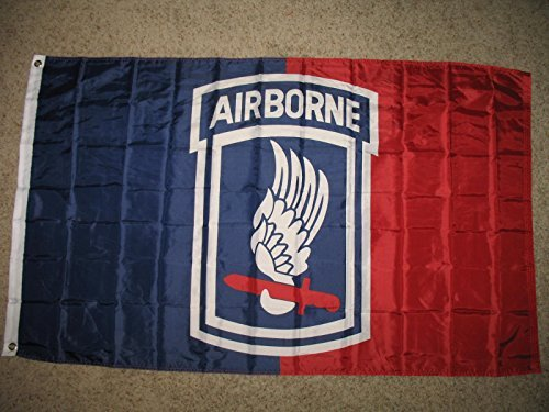 3X5 173Rd Airborne Army Division Flag 3'X5' Banner (Licensed By Us Army) (173rd Airborne Division)