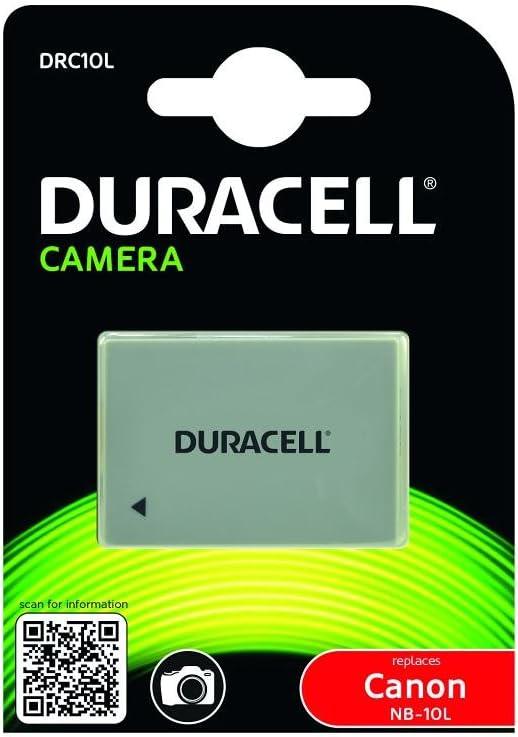 Duracell Drc10l Li Ion Kamera Ersetzt Akku Für Nb 10l Kamera