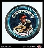 1964 Topps Coins # 127 All-Star Luis Aparicio Baltimore Orioles (Baseball Card) Dean's Cards 3 - VG Orioles