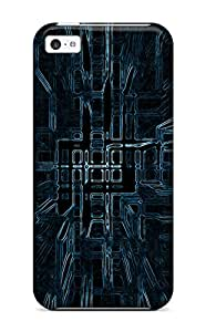 For Iphone 5c Tpu Phone Case Cover(k Wallpapers Abstract)