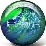 Pyramid Path Bowling Ball (Blue/Light Blue/Lime Green, 10 LB)