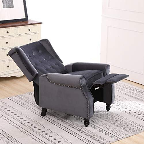 Edler Ohrensessel Antik Sessel Fernsehsessel TV Lounge Relaxsessel Stoff Möbel