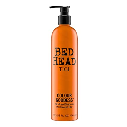 Tigi Bed Head Colour Goddess Shampoo Per Capelli Colorati 400 Ml