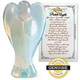 Pocket Guardian Angels will inspire and be your guide while providing spiritual shelter and guidance.  Each Opalite Angel is hand carved and comes with a gold organza gift bag and Angel Poem gift card. The use of healing crystals and stones enhances ...
