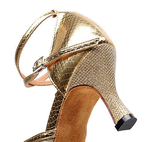 Dors7 Femme De Jazz 5 Chaussures 5cm Eu38 Latine Danse Chacha Hauts uk5 Our39 Samba Salsa Tango Talons Jshoe Modernes Pour Sandales CZ4wXq