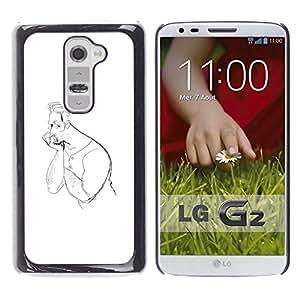 For LG G2 Case , Disegno - Diseño Patrón Teléfono Caso Cubierta Case Bumper Duro Protección Case Cover Funda