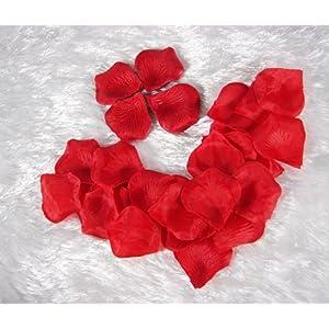 1000pcs Red Silk Rose Petals Artificial Flower Wedding Favor Bridal Shower Aisle Vase Decor Confetti 67