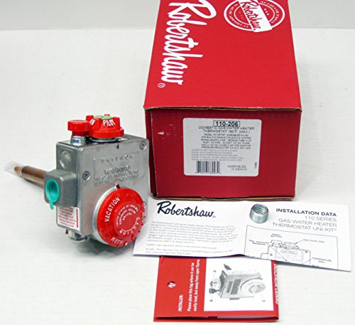 - Gas Water Heater Thermostat Valve Robertshaw 110-206 (R110RTSP)