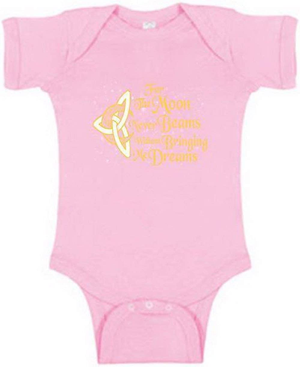 for The Moon Never Beams Without Bringing Me Dreams Onesie