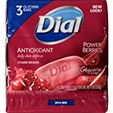 power berries dial - Dial Skin Care Bar Soap, Power Berries, 4 Ounce, 54 Bars