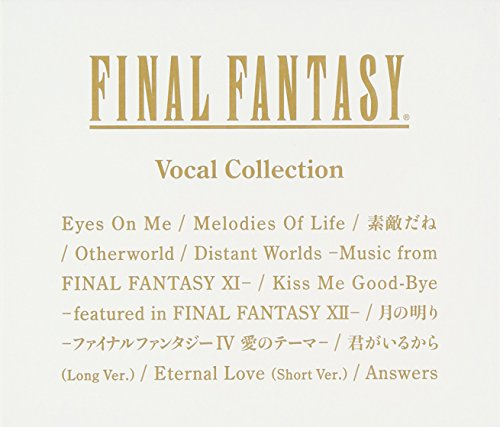 Price comparison product image Final Fantasy: Vocal Collection