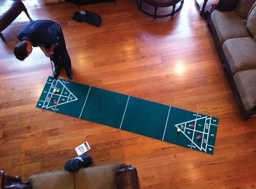 Putter Around The House 3 in 1 Shuffleboard and Bocce Games for Golf by Putter Around The House