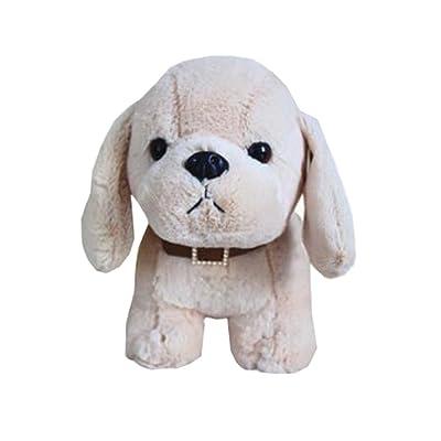 """8 """"petit cadeau en peluche de chiot de peluche de chien de peluche de petite taille pour des enfants, K"""