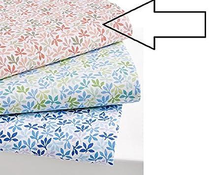 Martha Stewart 300 Tc Cotton Percale Sheet Set Leaf Ditsy Collection