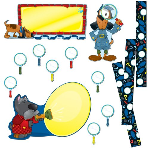 Carson Dellosa Super Sleuths Bulletin Board Set (110149)