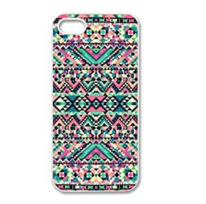 Generic Pink Turquoise Girly Aztec Andes Tribal Pattern for APPLE IPHONE 5 Best Durable Case