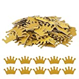 Haley Party Gold Crown Confetti Party Ta...