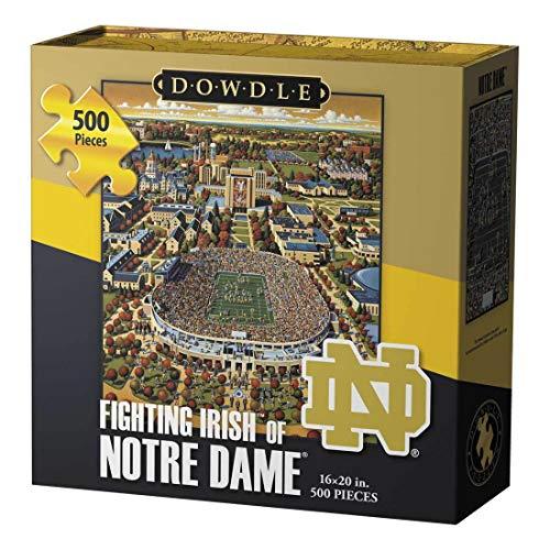 Dowdle Jigsaw Puzzle - Fighting Irish of Notre Dame - 500 Piece