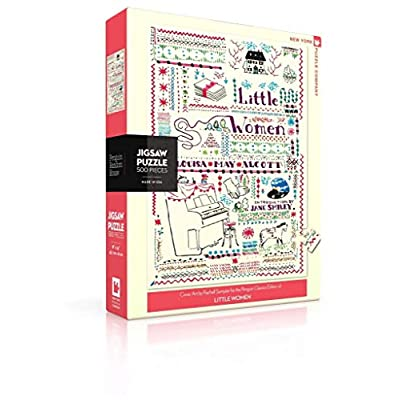 New York Puzzle Company - Penguin Random House Little Women - 500 Piece Jigsaw Puzzle: Toys & Games