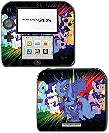 My Little Pony MLP Filly Princess Luna Friends Video Game Vinyl Decal Skin Sticker Cover for Nintendo 2DS System Console