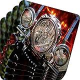 Rikki Knight Motorcycle Headlights Design Soft