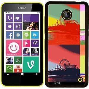 Funda para Nokia Lumia 630 - Muelle Del Arte Pop by Christine aka stine1