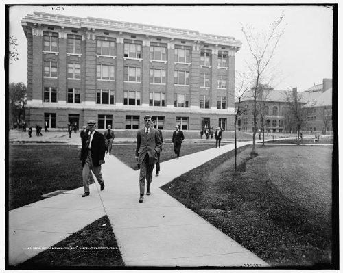 Photo: Chemical building,gym,University,Michigan,educational buildings,Ann Arbor,1905
