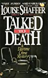 Talked to Death, Louise Shaffer, 0425154076