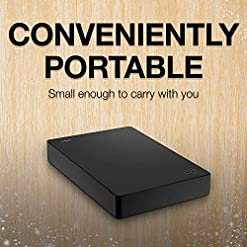 Seagate Portable 4 TB External Hard Drive HDD – USB 3.0 for PC Laptop and Mac (STGX4000400) – Amazon Exclusive