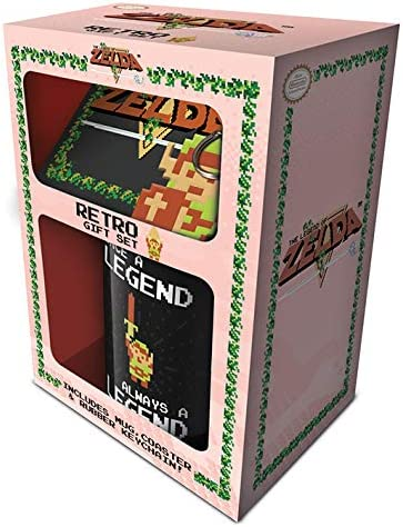 The Legend Of Zelda - Caja Regalo Retro: Amazon.es: Hogar