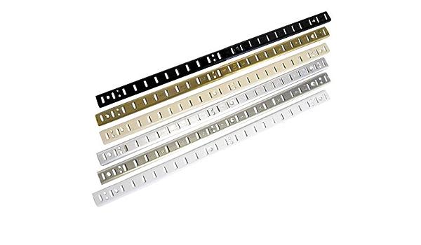 Knape /& Vogt John Sterling PB-0086-WT White Pilaster Clip and Screws