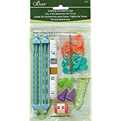 Clover Knitting Accessory Set in Handy Compact Case