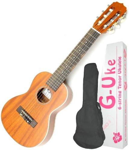 Aria Uta 120 6 cuerdas Tenor ukelele guitarra Hybrid – Guitarlele ...