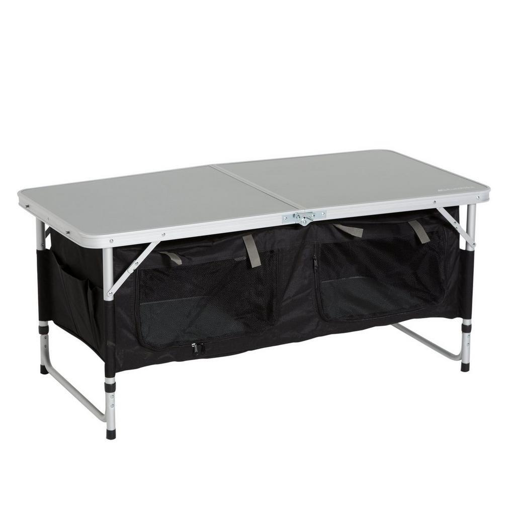 Eurohike Base-Camping Storage Table, Silber, Einheitsgröße