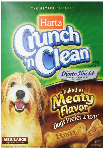 Hartz Crunch N Clean Dog Biscuit, Medium