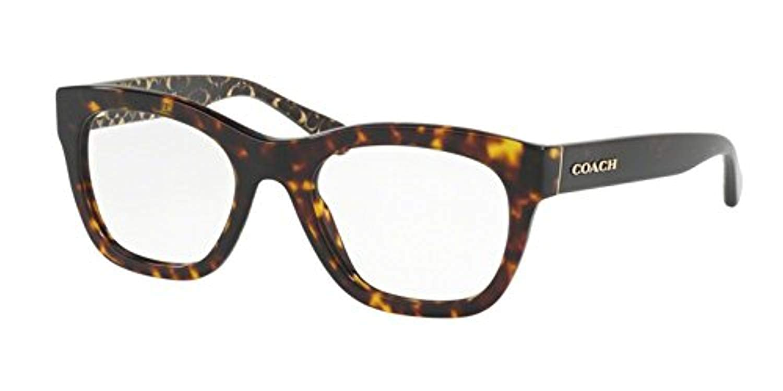 8e4c1ccc3653 Eyeglasses Coach HC 6115 5505 BLACK CHUNKY GLITTER at Amazon Women's  Clothing store: