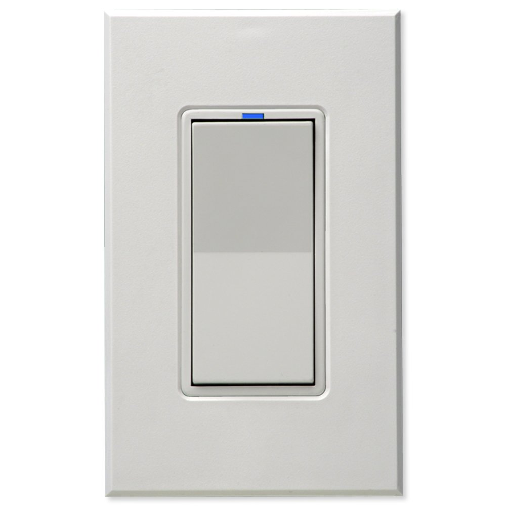 PCS PulseWorx UPB Wall Switch-Relay/Dimmer, White (WS1C-W)