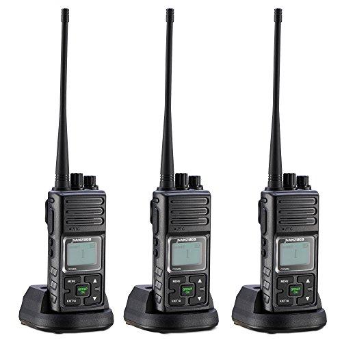 Walkie Talkie, Sanzuco 20 Channel Hands Free 2 Way Radios up to...