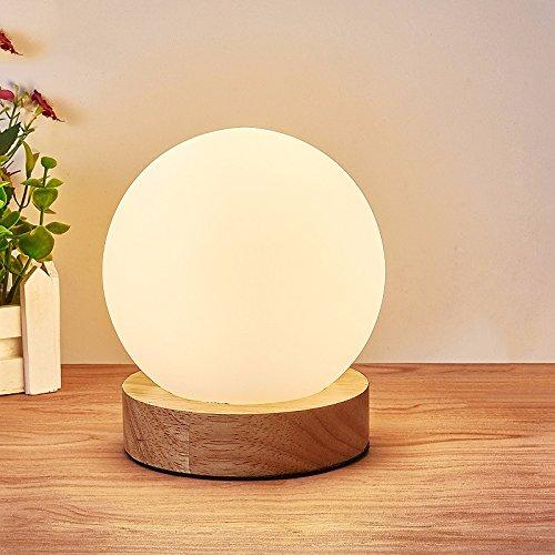 Einfache Einfache Einfache Schlafzimmer Nachttischlampe, Holz LED Augenschutz Leselampe, 12-W-LED, 37 B074FTL7YM   Helle Farben  4ff89b