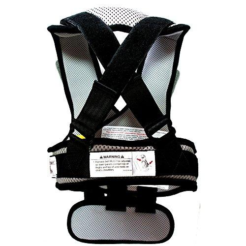 RideSafer Type 3 GEN3 Travel Vest - Gray/Black - Small by RideSafer (Image #2)