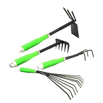 Jeu d\'outils de Jardinage Ensemble de Jardin 4 pièces avec ...